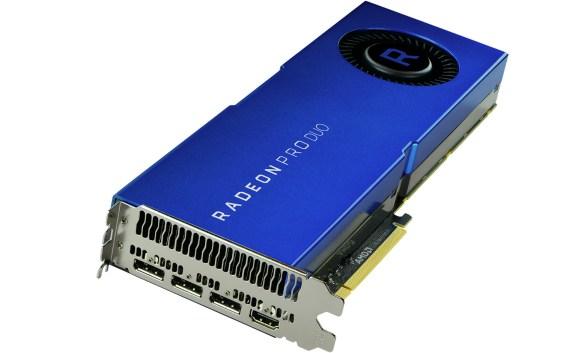 RADEON PRO DUO de AMD, la nueva tarjeta gráfica profesional DUAL-GPU