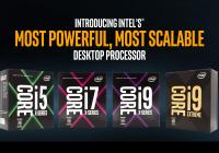 Intel lanza sus procesadores Skylake-X (Core i9) y Kabylake-X