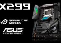 ASUS presenta nuevas placas madre basadas en X299