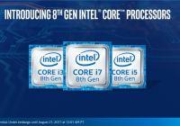 Intel anuncia sus procesadores móviles basados en la 8va Gen Kaby Lake Refresh