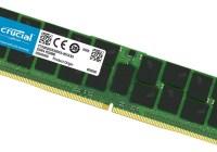 Crucial anuncia sus memorias DDR4 de 128GB LRDIMM para Servidores