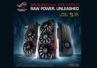 ASUS Anuncia la Serie de Tarjetas de Video Gaming GeForce GTX 1070 Ti