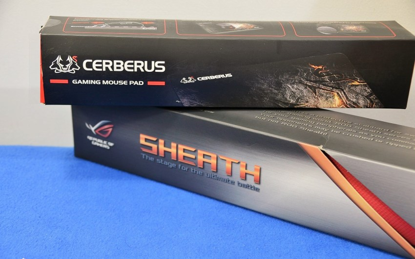Review ASUS ROG Sheath y Cerberus Mouse Pad.