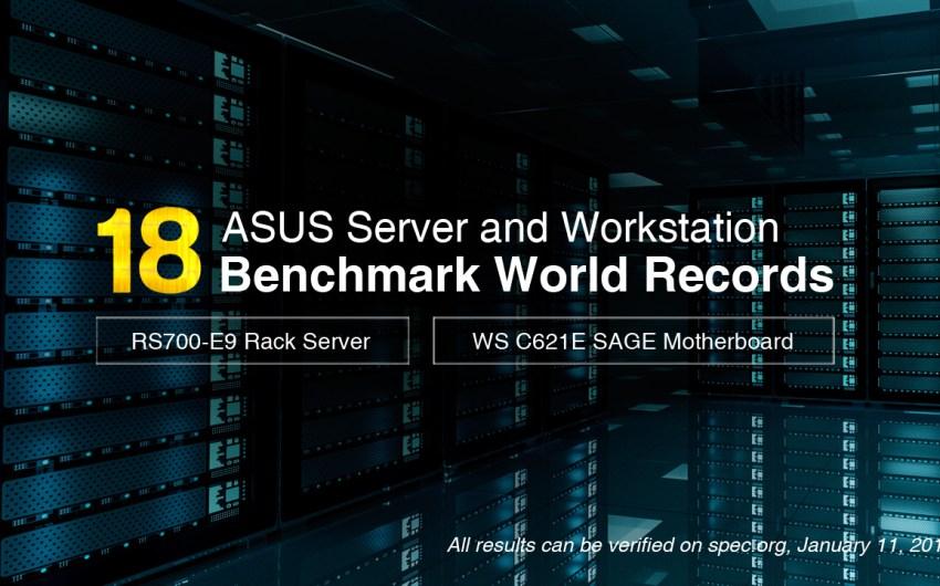 Placas Madres ASUS para Server y Workstation marcan 18 Records Mundiales en Benchmarks