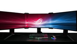 Asus presenta el kit bisel free, la perfección en configuraciones muti-monitor.