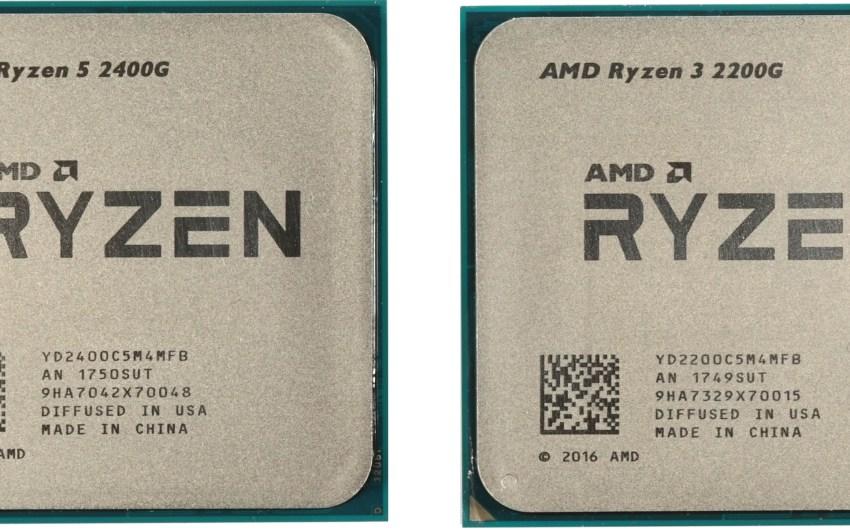 AMD lanza sus nuevas APU Ryzen 2000G (Con gráficos Radeon VEGA)