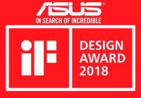 ASUS Republic of Gamers Gana 18 iF Design Awards 2018