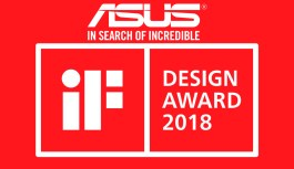 ASUS Republic of Gamers Gana 18 iF Design Awards 2018