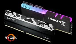 G.SKILL anuncia nuevas especificaciones de memoria para los procesadores AMD Ryzen ™ 2000 Series y plataforma X470 de hasta DDR4-3600MHz