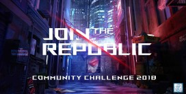 "ASUS Republic of Gamers Anuncia: ""ROG Join the Republic: Community Challenge 2018"""