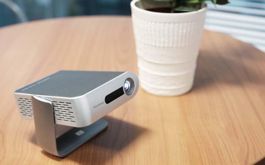 ViewSonic presenta proyector Ultra-Portátil con altavoces Harman Kardon® y hasta 6 horas de autonomía.