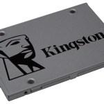Kingston lanza capacidad adicional de 2 TB de la línea SSD UV500