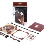 Noctua presenta la próxima generación de ventilador NF-A12x25 de 120 mm, adaptador de 140 mm y línea redux NF-P12