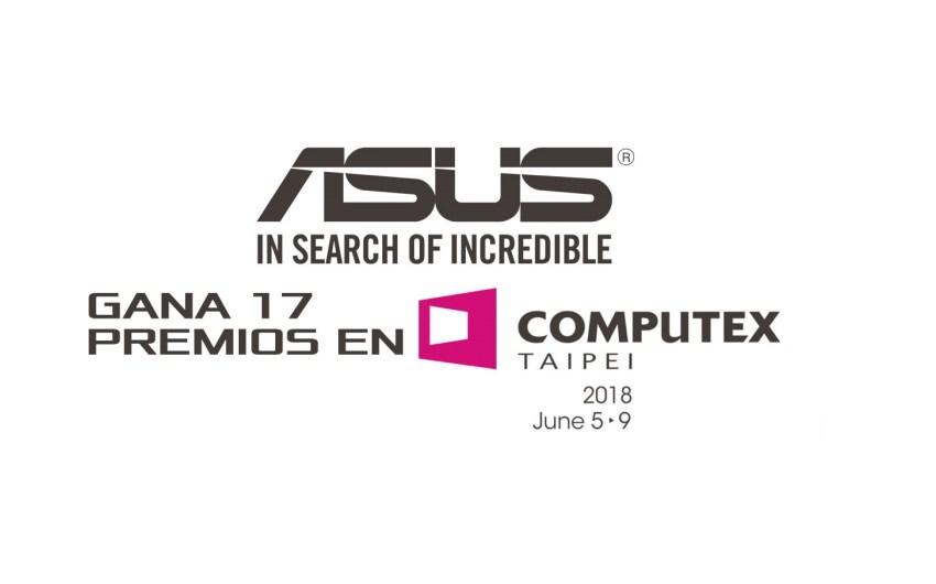 COMPUTEX2018: ASUS Gana 17 Premios en Computex 2018