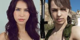 """""""Quiet"""" de Metal Gear Solid V, interpretada por Stefanie Joosten, estará en FestiGame 2018"""