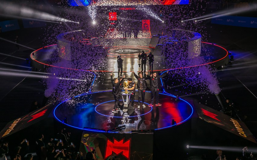 400 mil personas vivieron el triunfo de Infinity Esports en la Final Latinoamérica Movistar de League of Legends