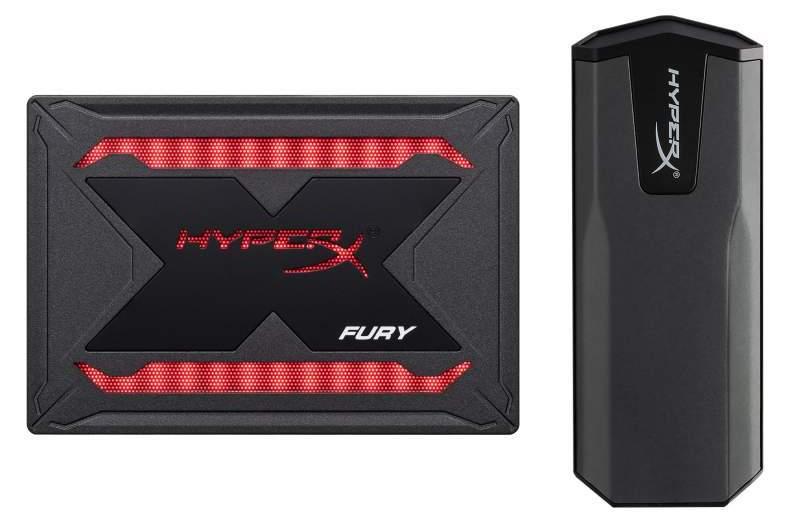 HyperX amplía su línea de unidades de estado sólido con FURY RGB SSD y SAVAGE EXO SSD