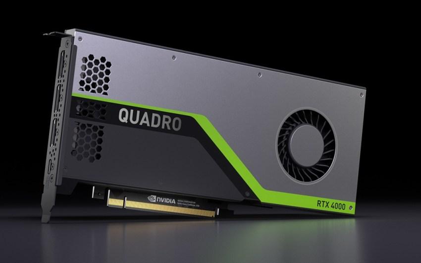 NVIDIA presentó la Quadro RTX 4000