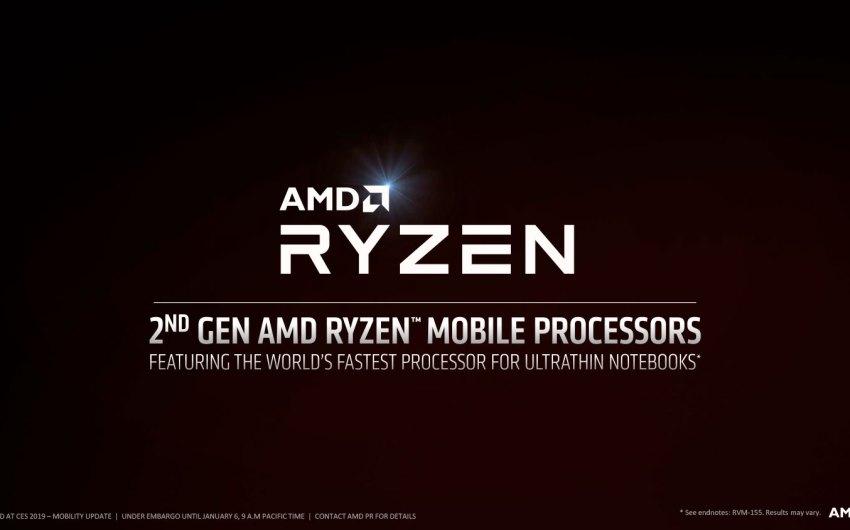 AMD anuncia su línea Ryzen 3000 series para equipos portatiles