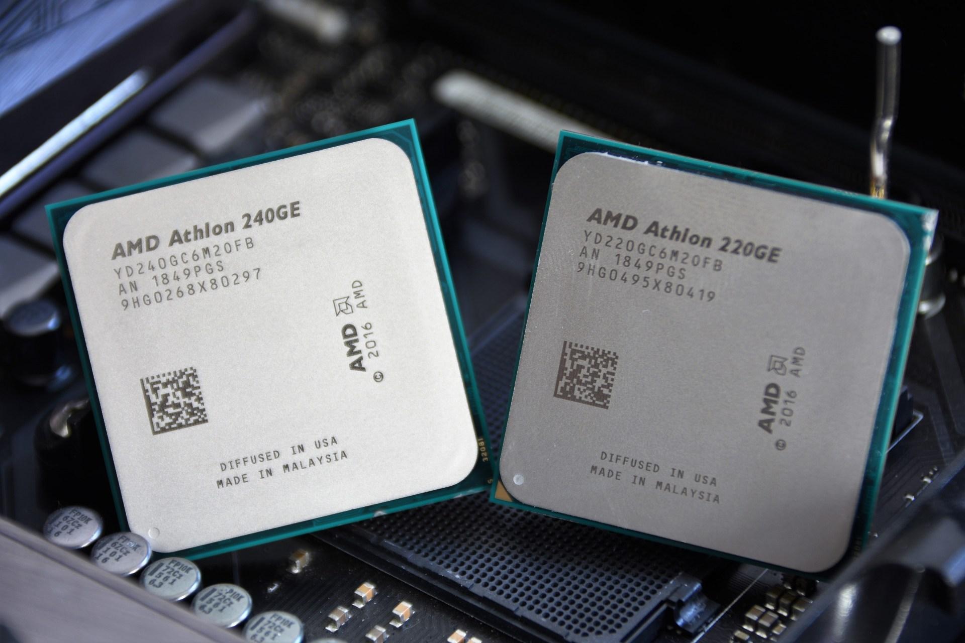 Review Amd Athlon 220ge Y 240ge Am4