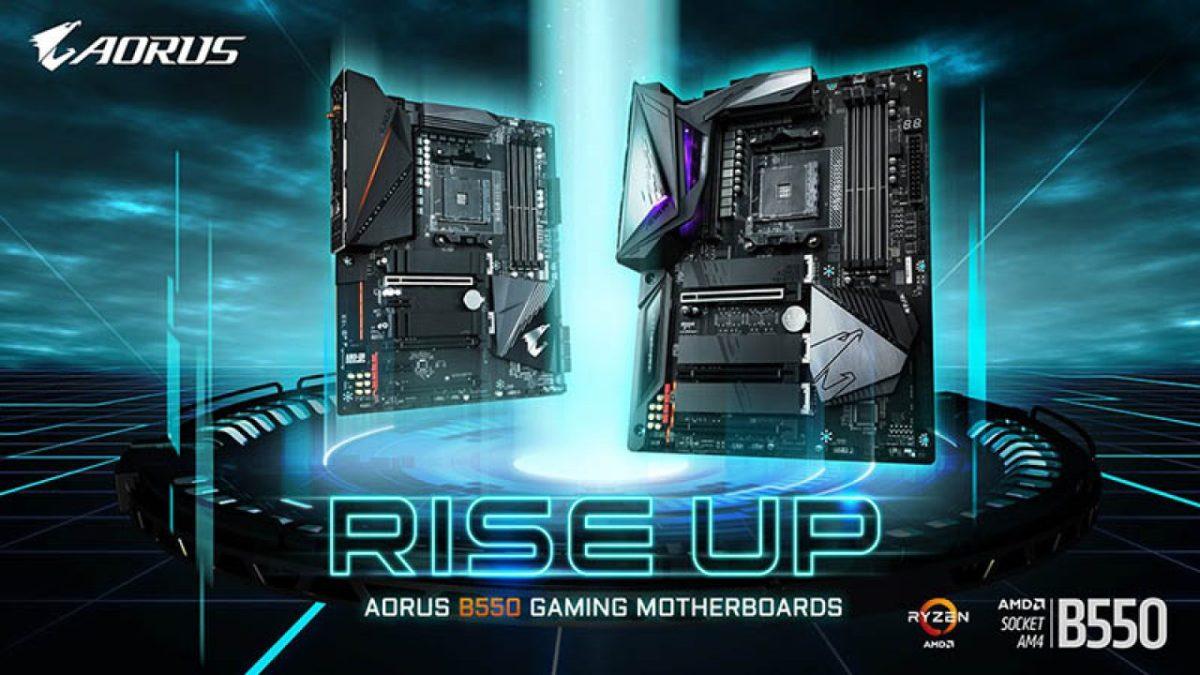Gigabyte presenta sus primeras placas madre B550 encabezadas por la B550 Aorus Master 1280x720 1 - GIGABYTE presenta su nueva placa madre AMD B550 de AORUS