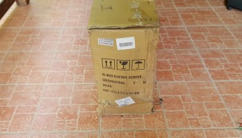 FLJ T113 11inch electric scooter unboxing 2