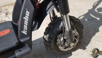 Kaabo Wolf Warrior II Road Electric Scooter Quick Review 3