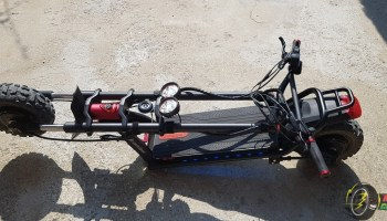 Kaabo Wolf Warrior II Road Electric Scooter Quick Review 4