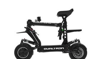dualtron x side folded