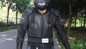 electric scooter armour suit 2