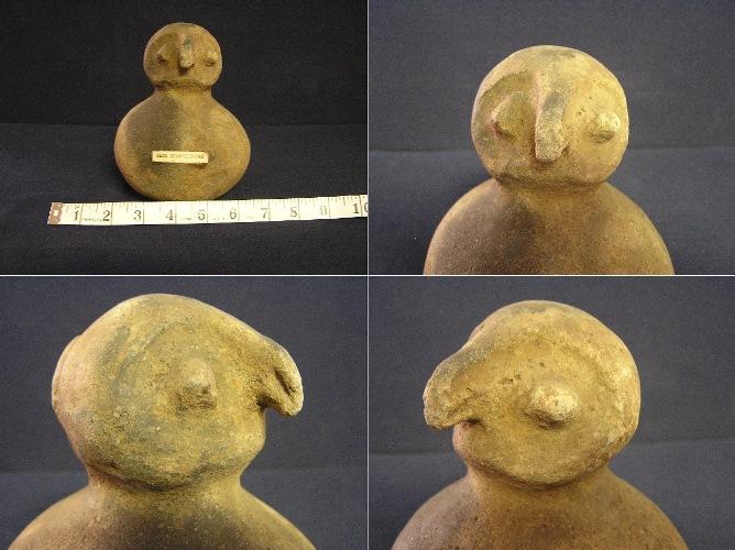 owl effigy vessel