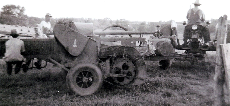 photo of Johnson farmers