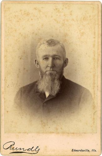 William Love cabinet card photo