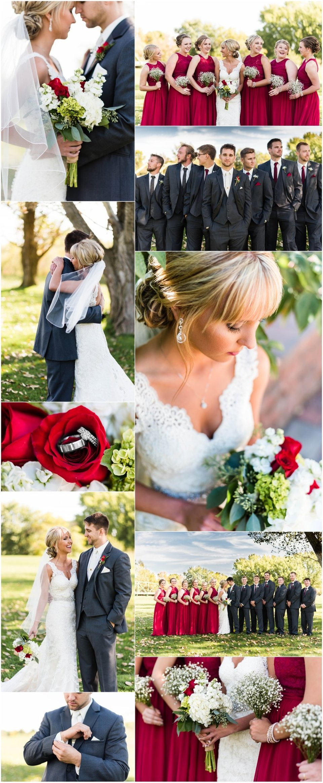 Wine and Charcoal South Dakota Fall Wedding | Maddie Peschong Photography
