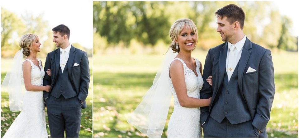 Bride and groom portraits before wedding | Maddie Peschong Photography