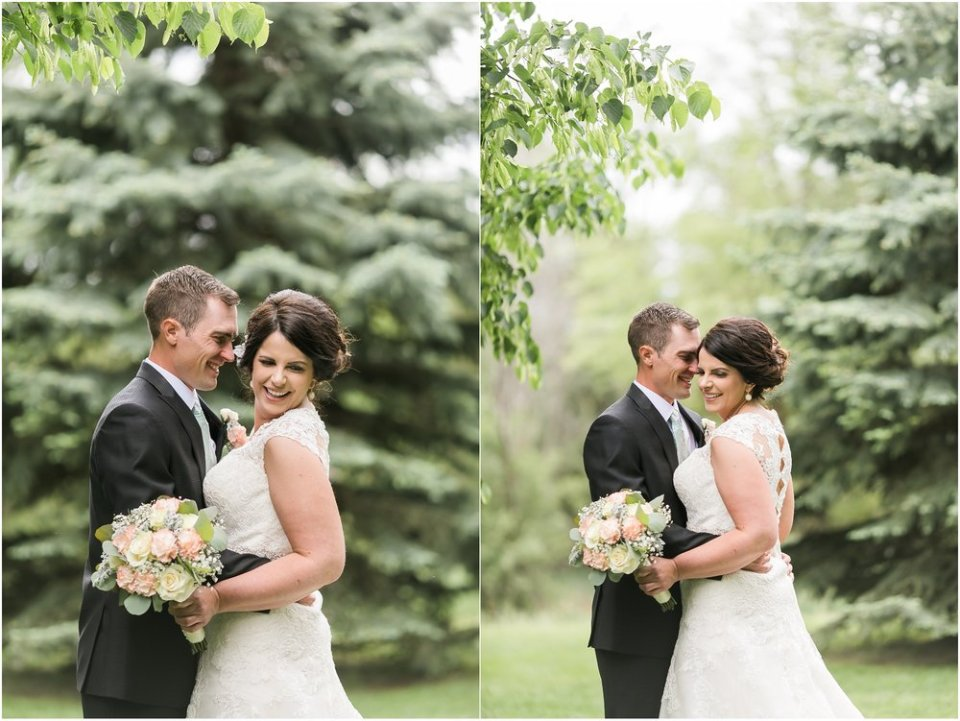 Bride and groom wedding day portraits | Maddie Peschong Photography