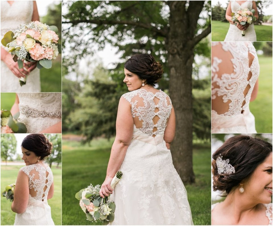 Spring blush bridal portraits | Maddie Peschong Photography