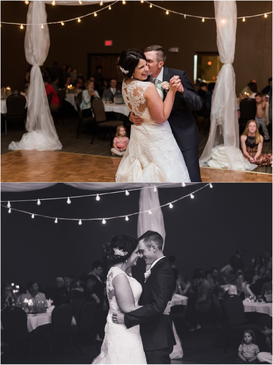 Bride and groom first dance | Maddie Peschong Photography