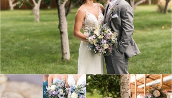 Colorful Early Spring Wedding At Blue Haven Barn Maddiepeschong Com