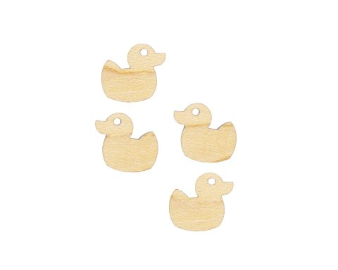 Rubber Ducky Blank Wood Cabochons