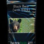 Black Bear 01 with Back Amulet Bag Peyote Seed Bead Pattern PDF or KIT DIY-Maddiethekat Designs