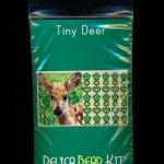 Deer Tiny Mini Amulet Bag Peyote Bead Pattern PDF or KIT DIY-Maddiethekat Designs