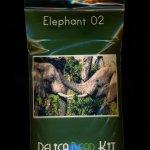 Elephant 02 Larger Panel Peyote Seed Bead Pattern PDF or KIT DIY-Maddiethekat Designs