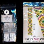 euphoria bracelet odd count peyote bead pattern pdf or kit maddiethekat designs 2