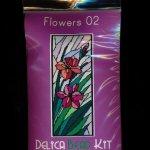 Flowers 02 Larger Panel Peyote Bead Pattern PDF or KIT DIY-Maddiethekat Designs
