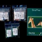 Giraffes (Panel or Amulet Bag) Peyote Bead Pattern PDF or KIT DIY-Maddiethekat Designs