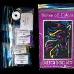 horse of colors small panel seed bead pattern pdf or kit diy maddiethekat designs 2