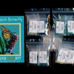 Monarch Butterfly Larger Panel Peyote Seed Bead Pattern PDF or KIT DIY Insect-Maddiethekat Designs