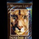 Mountain Lion Small Panel Peyote Bead Pattern PDF or KIT DIY-Maddiethekat Designs