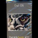 Owl 06 Small Panel Peyote Seed Bead Pattern PDF or KIT DIY Bird-Maddiethekat Designs